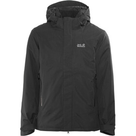 Jack Wolfskin Northern Edge Jakke Herrer sort